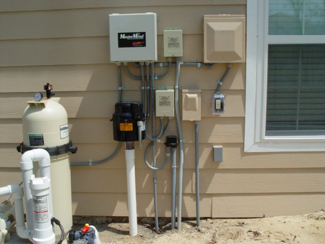 Swimming Pool Electrician : Alco electrical contracting inc